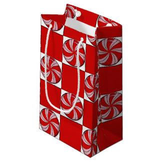 Bolso del regalo de la hierbabuena bolsa de regalo pequeña