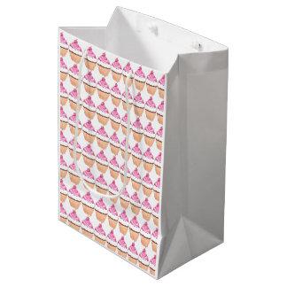 Bolso del regalo de la magdalena bolsa de regalo mediana