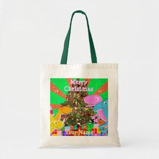 Bolso del regalo de los dinosaurios del dibujo bolsa