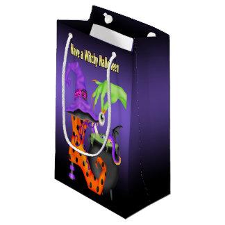 Bolso del regalo de Witchy Halloween Bolsa De Regalo Pequeña