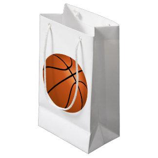 Bolso del regalo del baloncesto bolsa de regalo pequeña