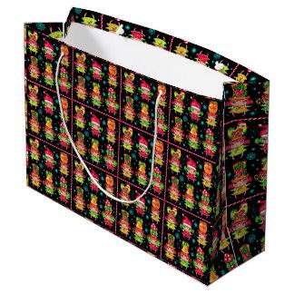 Bolso del regalo del carácter del navidad bolsa de regalo grande