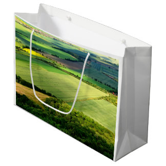 Bolso del regalo del paisaje de la naturaleza bolsa de regalo grande
