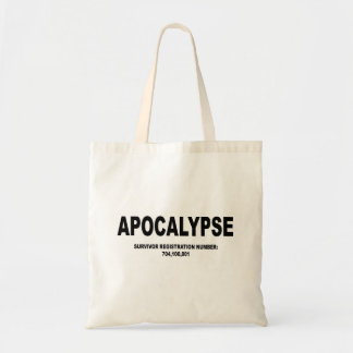 Bolso del superviviente de la apocalipsis bolsas
