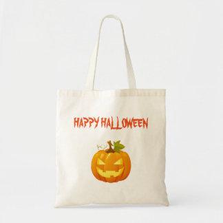 Bolso del truco o de la invitación de Halloween