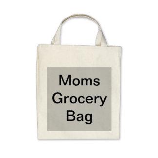 Bolso del ultramarinos de la mamá bolsas de mano