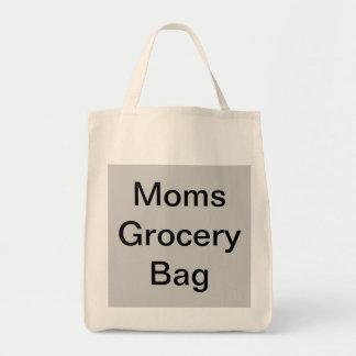 Bolso del ultramarinos de la mamá bolsa tela para la compra