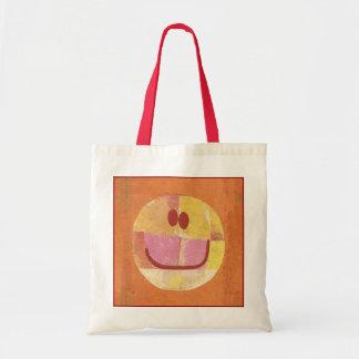 Bolso feliz de la cara de Paul Klee