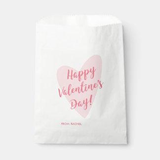 Bolso feliz personalizado del favor del el día de bolsa de papel