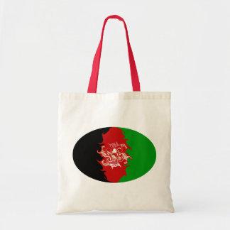 Bolso Gnarly de la bandera de Afganistán Bolsas De Mano