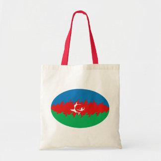 Bolso Gnarly de la bandera de Azerbaijan Bolsa De Mano