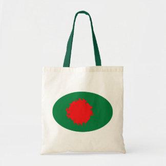 Bolso Gnarly de la bandera de Bangladesh Bolsas