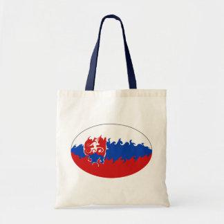 Bolso Gnarly de la bandera de Eslovaquia Bolsa