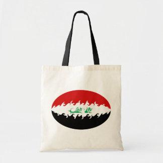 Bolso Gnarly de la bandera de Iraq Bolsa