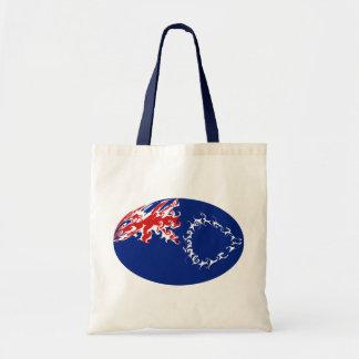 Bolso Gnarly de la bandera de las islas de cociner Bolsas De Mano