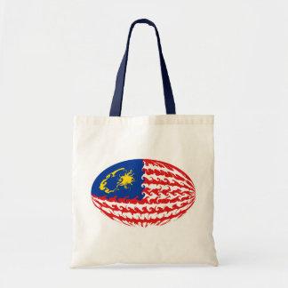 Bolso Gnarly de la bandera de Malasia Bolsa