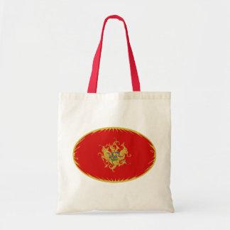 Bolso Gnarly de la bandera de Montenegro Bolsa