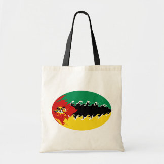 Bolso Gnarly de la bandera de Mozambique Bolsas De Mano