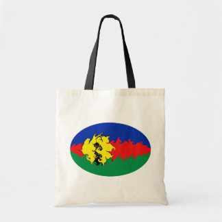 Bolso Gnarly de la bandera de Nueva Caledonia Bolsa