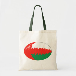 Bolso Gnarly de la bandera de Omán Bolsa De Mano