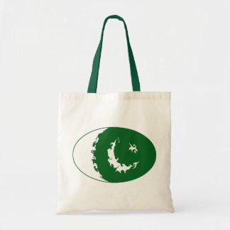 Bolso Gnarly de la bandera de Paquistán Bolsas