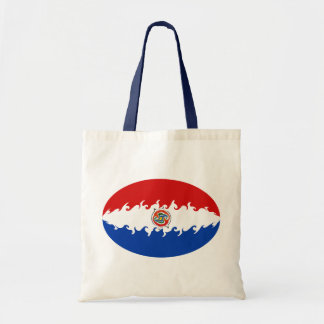Bolso Gnarly de la bandera de Paraguay Bolsa