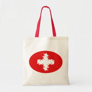 Bolso Gnarly de la bandera de Suiza Bolsa