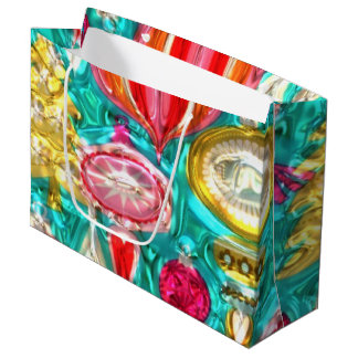 Bolso grande del regalo del modelo festivo del bolsa de regalo grande