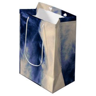 Bolso hermoso del regalo del cielo bolsa de regalo mediana