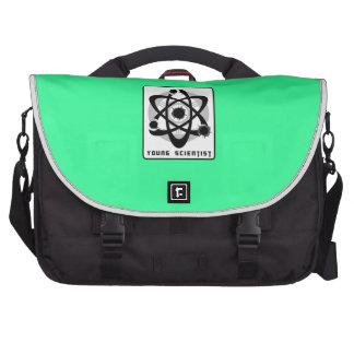 Bolso joven del ordenador portátil del científico bolsas para portátil