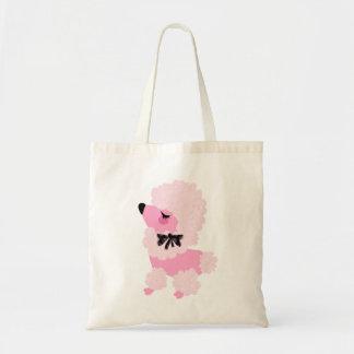 Bolso lindo del caniche rosado de Fifi Bolsa De Mano