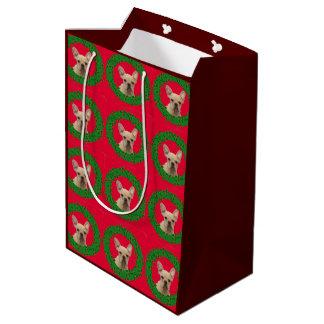 Bolso medio del regalo del dogo francés del bolsa de regalo mediana