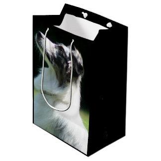 Bolso medio del regalo del pastor australiano bolsa de regalo mediana