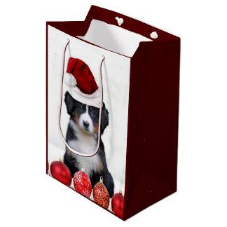 Bolso medio del regalo del perro de montaña de bolsa de regalo mediana