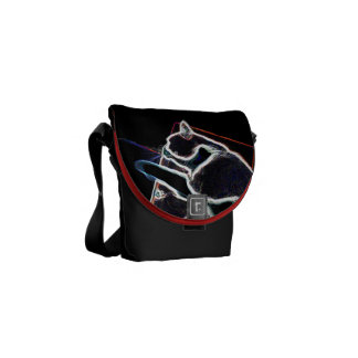 Bolso Messenger Cat en box: mini: