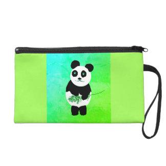 Bolso/monedero del mitón del oso de panda bolsito de fiesta