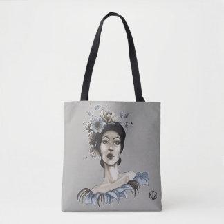 Bolso Mujer con Flores - María