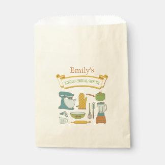 Bolso nupcial de la invitación de la ducha de la bolsa de papel