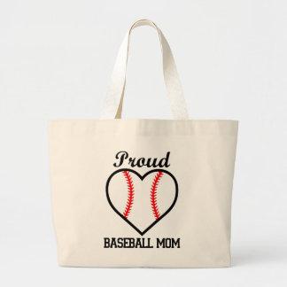 Bolso orgulloso de la mamá del béisbol