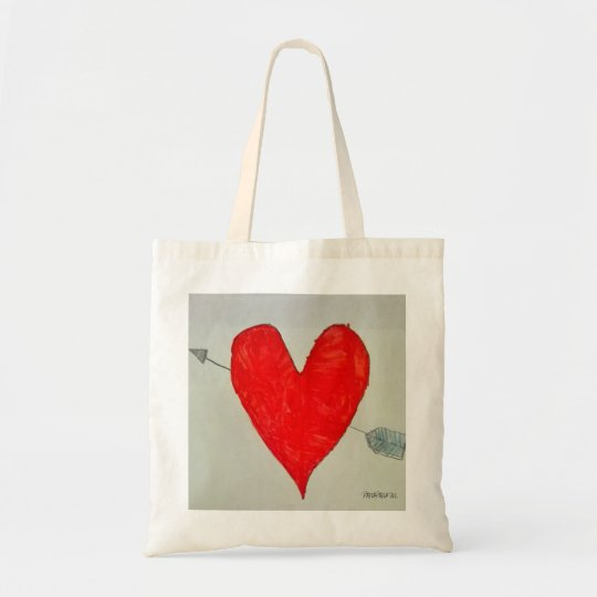 bolso original corazón