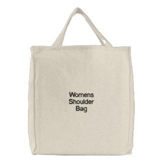 Bolso para mujer bolsa de tela bordada