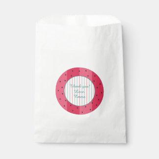 "Bolso ""paraguas del favor de la fiesta de bolsa de papel"