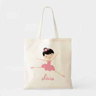 Bolso personalizado de la bailarina bolsa tela barata
