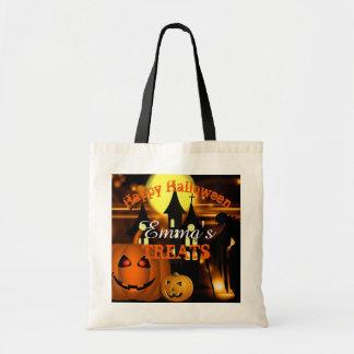 Bolso De Tela Bolso personalizado del feliz Halloween