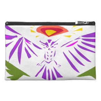 Bolso púrpura del diseño del extracto del búho