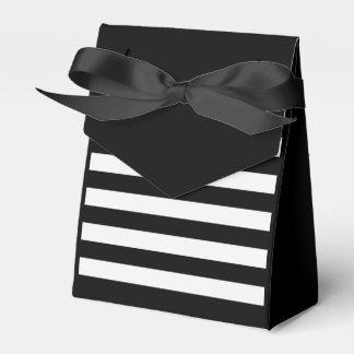 Bolso rayado caja de regalos
