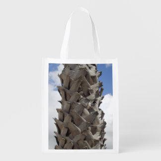 Bolso reutilizable de la palmera lanuda
