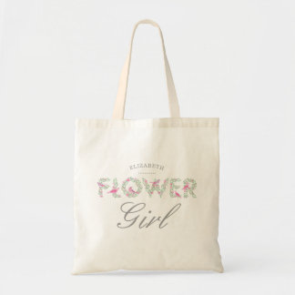 Bolso reutilizable floral del florista
