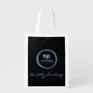 Bolso reutilizable reservado emocionante bolsa para la compra