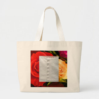 Bolso rojo blanco de los rosas amarillos del vesti bolsa de mano